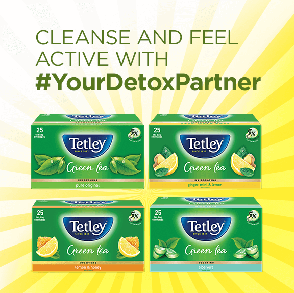 Tetley Tea – Your Detox Partner